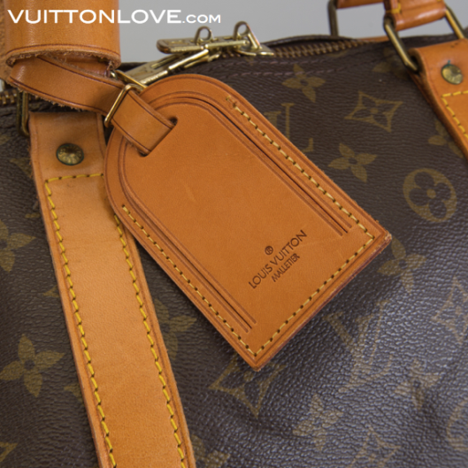 Louis Vuitton Keepall 60 guide äkta Louis Vuitton Vuitton Love