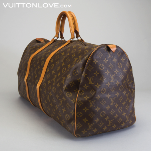 Louis Vuitton Keepall guide till äkta Louis Vuitton Vuitton Love