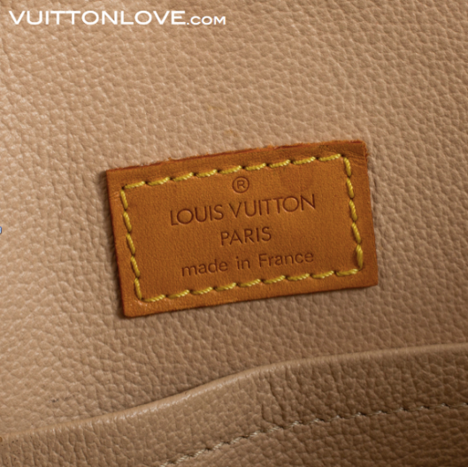 Louis Vuitton Sac Plat insida guide till äkta Louis Vuitton Vuitton Love