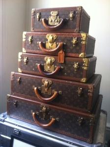 Louis Vuitton resväskor