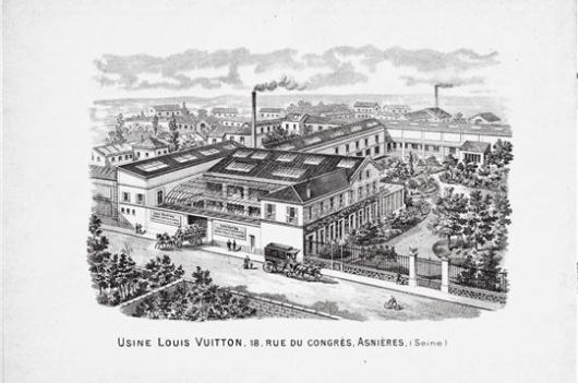 Louis Vuitton Fabrik