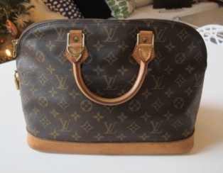 Vintage Louis Vuitton Alma Monogram Canvas
