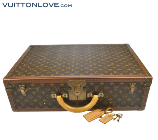 Louis Vuitton Bisten resväska Monogram Canvas Vuitton Love