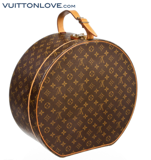 Louis Vuitton Boîte chapeaux hattask Monogram Canvas Vuitton Love