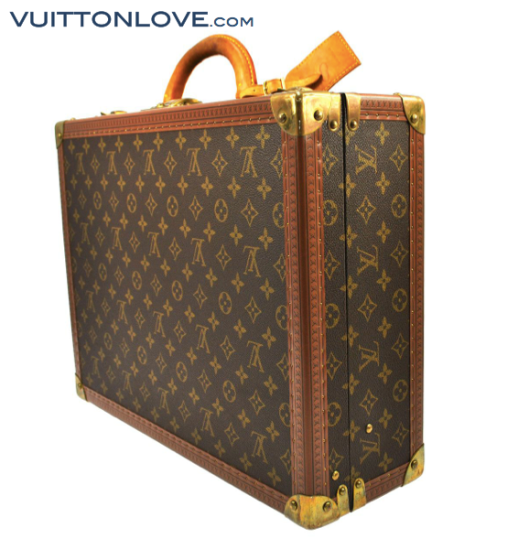 Louis Vuitton Cotteville resväska Monogram Canvas Vuitton Love