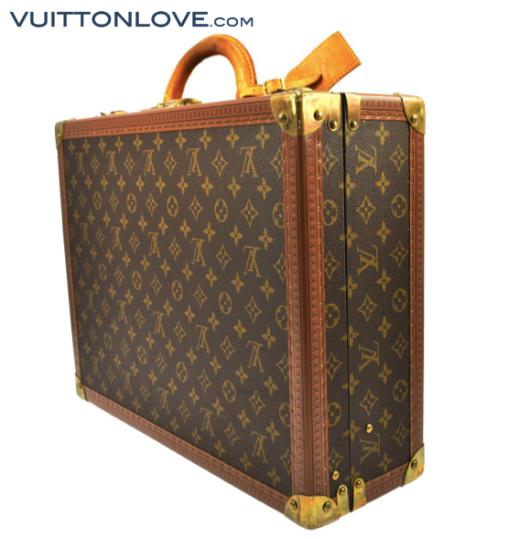 Louis Vuitton Cotteville resväska Monogram Canvas Vuitton Love