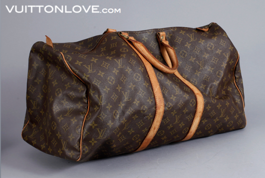 Louis Vuitton Keepall 55 Monogram Canvas Bukowskis 1