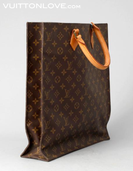 Louis Vuitton Sac Plat Monogram Canvas Bukowskis 2