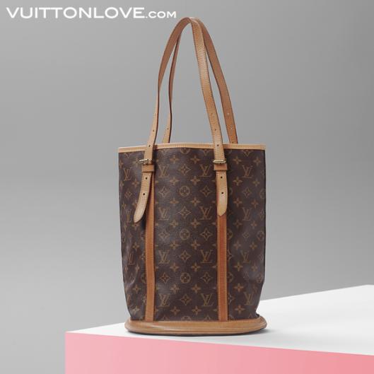 Louis Vuitton Bucket GM Monogram Canvas Vuitton Love 1