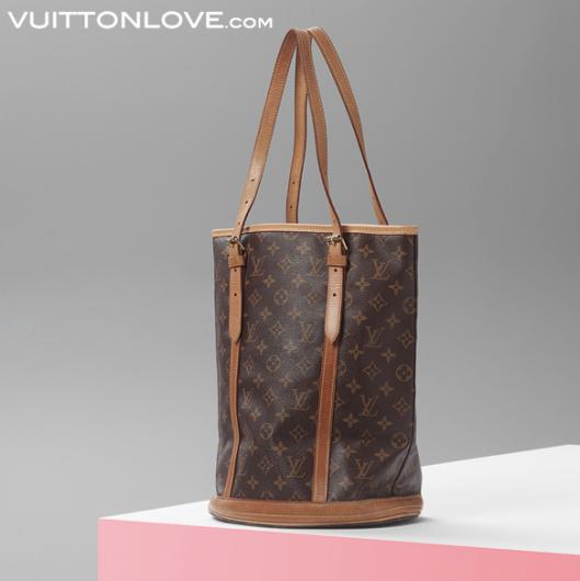 Louis Vuitton Bucket GM Monogram Canvas Vuitton Love 4