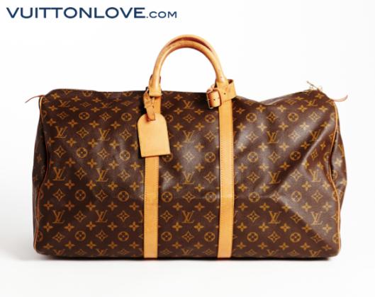 Louis Vuitton Keepall Monogram Canvas Vuitton Love 1