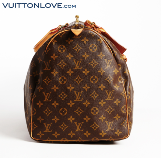 Louis Vuitton Keepall Monogram Canvas Vuitton Love 2
