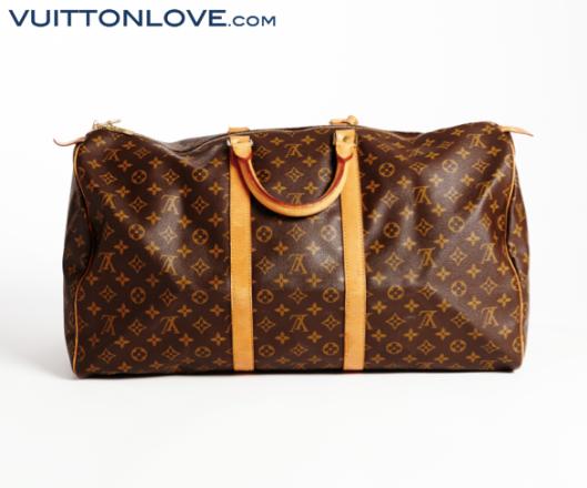Louis Vuitton Keepall Monogram Canvas Vuitton Love 3