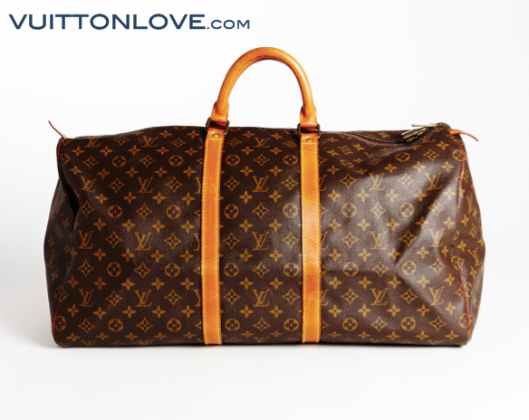 Louis Vuitton Keepall Monogram Canvas Vuitton Vuitton Love 1