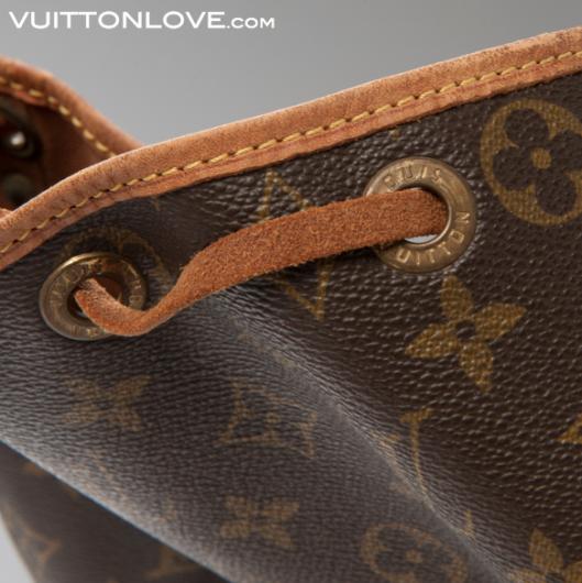 Louis Vuitton Noé Monogram Canvas Vuitton Love 4