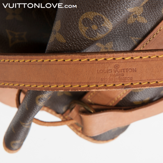 Louis Vuitton Noé Monogram Canvas Vuitton Love 5