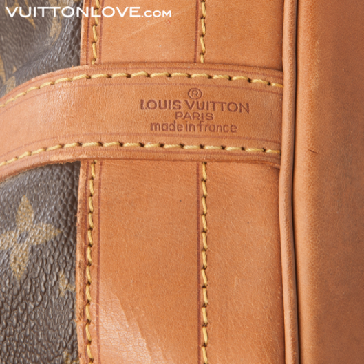 Louis Vuitton Noé Monogram Canvas Vuitton Love 6