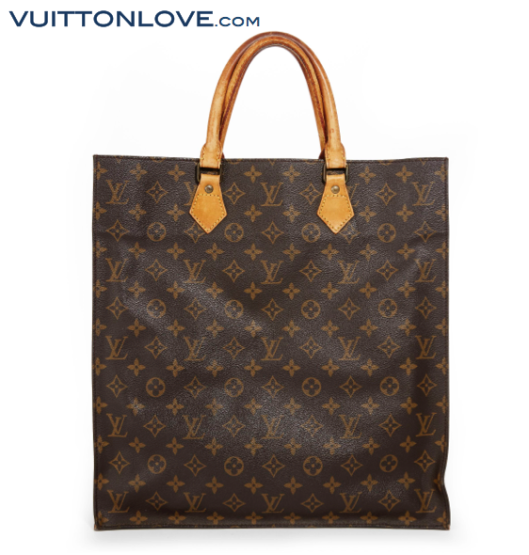 Louis Vuitton Sac Plat Monogram Canvas Vuitton Love 1