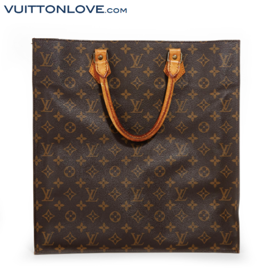 Louis Vuitton Sac Plat Monogram Canvas Vuitton Love 2