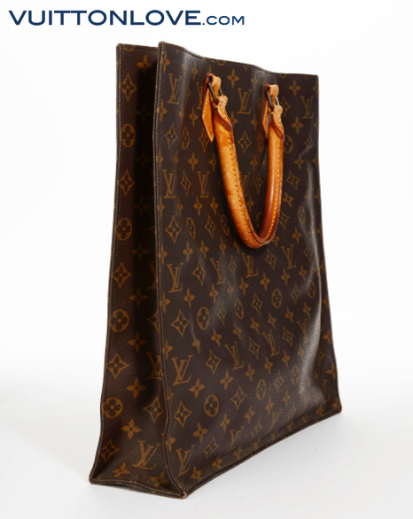 Louis Vuitton Sac Plat Monogram Canvas Vuitton Love 3
