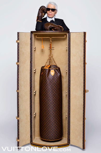 Louis Vuitton Karl Lagerfeld Monogram Canvas Punching Bag 2