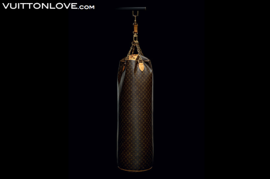 Louis Vuitton Karl Lagerfeld Monogram Canvas Punching Bag 3