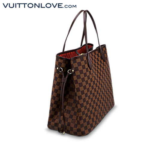 Louis Vuitton Neverfull Damier Ebène Canvas Vuitton Love 2