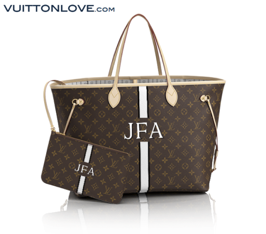 Louis Vuitton Neverfull Monogram Canvas Mon Monogram Vuitton Love