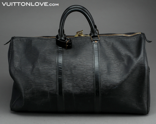 Louis Vuitton Keepall 50 Epi Vuitton Love 3