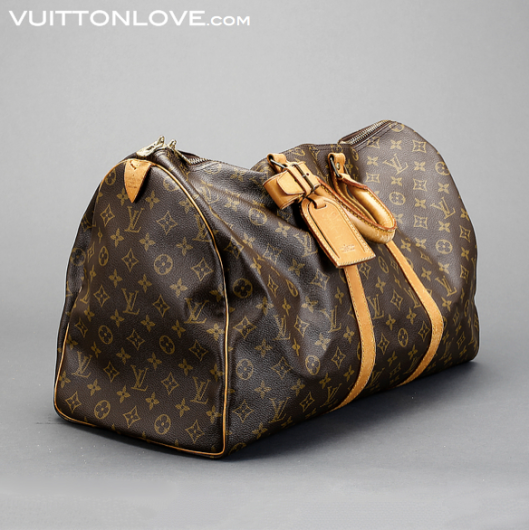 Louis Vuitton Keepall 50 Monogram Canvas Vuitton Love 2