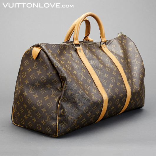Louis Vuitton Keepall 50 Monogram Canvas Vuitton Love 3