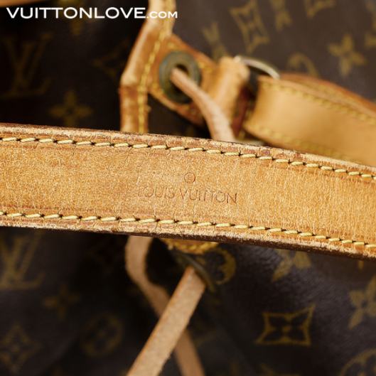 Louis Vuitton NoéMonogram Canvas Vuitton Love 4
