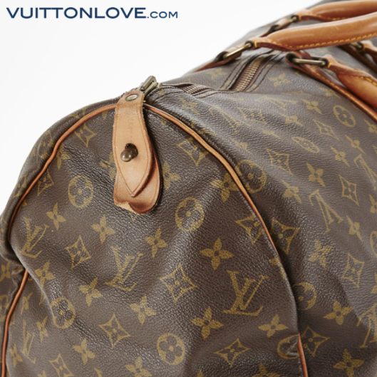 Louis Vuitton Keepall 55 Monogram Canvas Vuitton Love 3