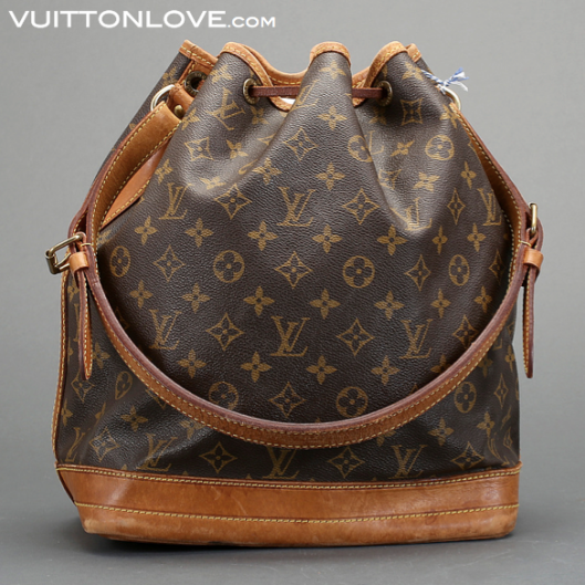 Louis Vuitton Noé Monogram Canvas Vuitton Love 1
