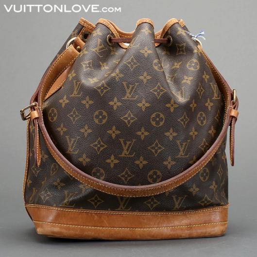 Louis Vuitton Noé Monogram Canvas Vuitton Love 1
