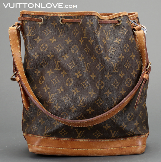 Louis Vuitton Noé Monogram Canvas Vuitton Love 2