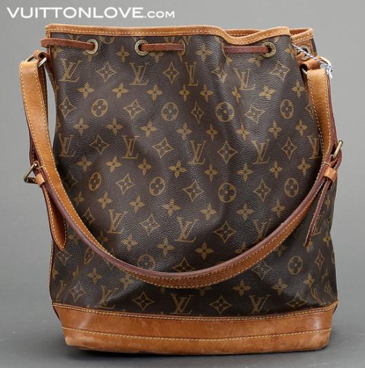 Louis Vuitton Noé Monogram Canvas Vuitton Love 2