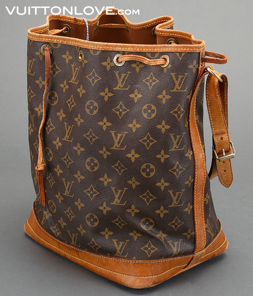 Louis Vuitton Noé Monogram Canvas Vuitton Love 3