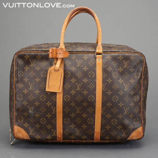 Louis Vuitton Sirius resvaska Monogram Canvas Vuitton Love 1