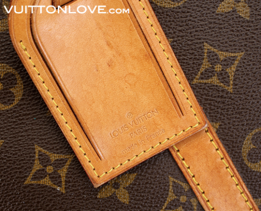 Louis Vuitton Sirius resvaska Monogram Canvas Vuitton Love 4