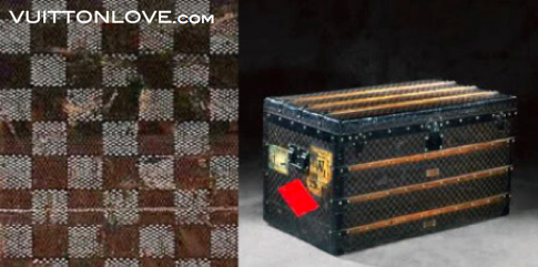 Louis Vuitton Damier Canvas Vuitton Love
