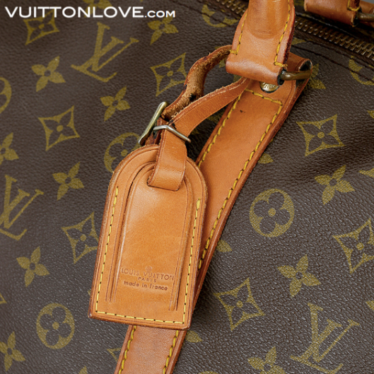 Louis Vuitton Keepall 55 i Monogram Canvas Vuitton Love ID 1007 2