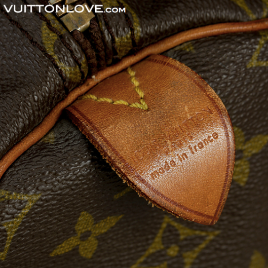 Louis Vuitton Keepall 55 i Monogram Canvas Vuitton Love ID 1007 4