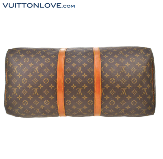 Louis Vuitton Keepall 55 Monogram Canvas Vuitton Love 5