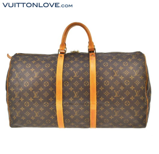 Louis Vuitton Keepall 55 i Monogram Canvas Vuitton Love 2