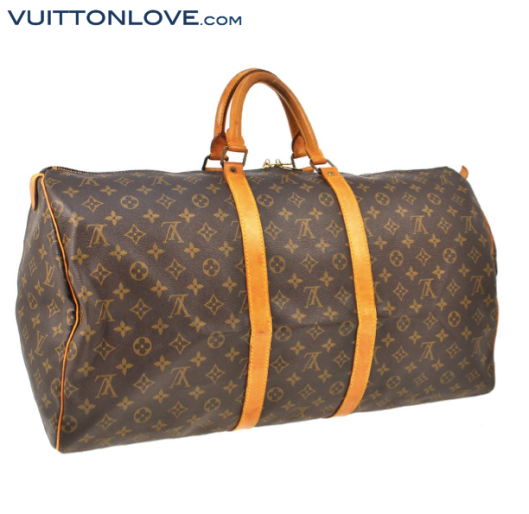 Louis Vuitton Keepall 55 i Monogram Canvas Vuitton Love 3
