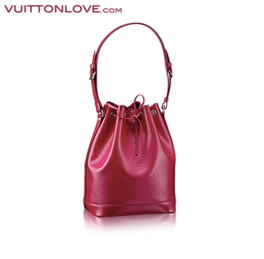 Louis Vuitton Noe Epi Pink Vuitton Love
