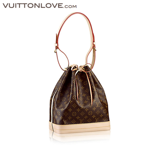 Louis Vuitton NoéMonogram Canvas Vuitton Love