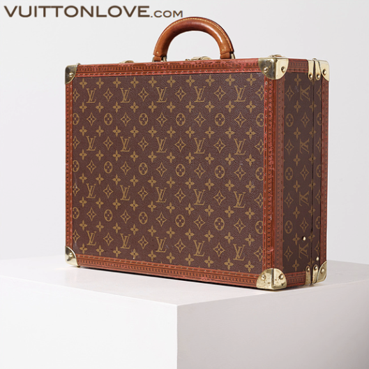 Louis Vuitton resvaska Cotteville 45 Monogram Canvas Vuitton Love 1