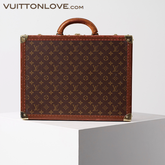 Louis Vuitton resvaska Cotteville 45 Monogram Canvas Vuitton Love 2